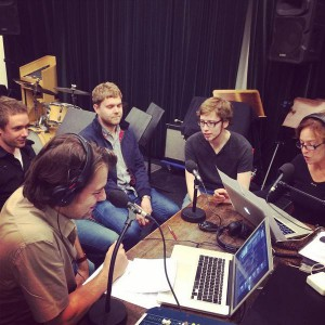 Bimhuis radio met Get the Blessing & Koen Schouten. september 2014