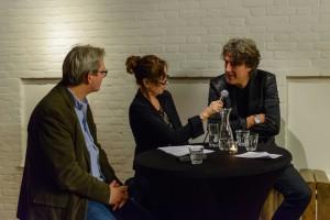 Met Ed Wubbe, Michiel Borstlap; Scapino Ballet 21-1-16. foto Rob Hogeslag